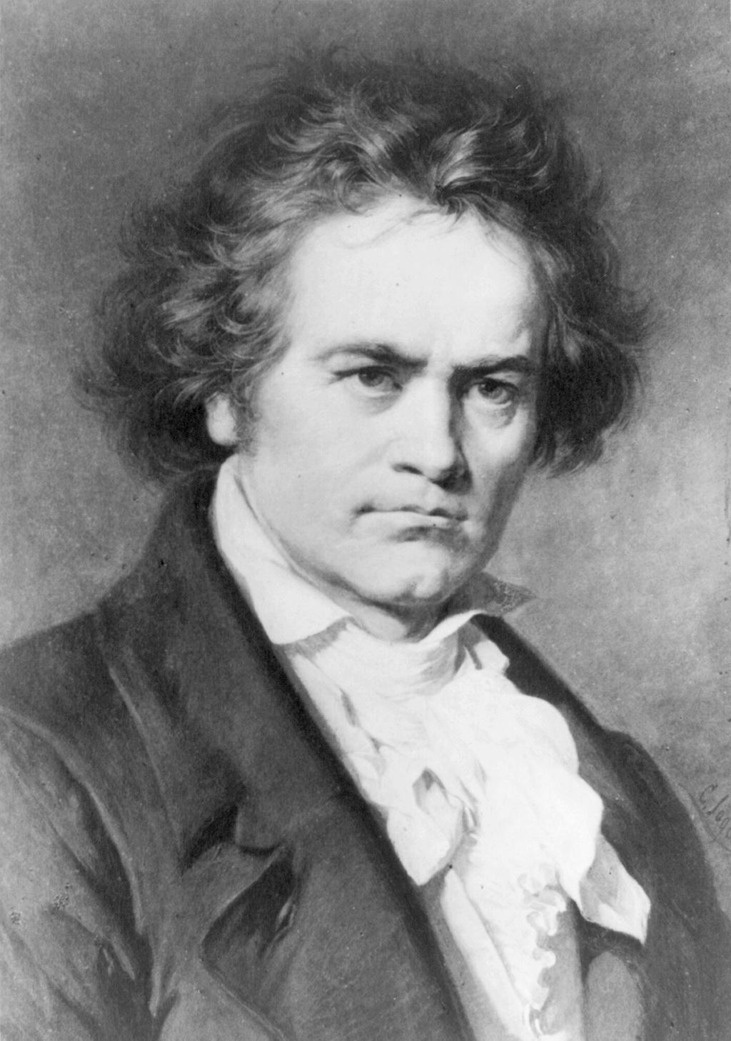 Ludwig van Beethoven door Karl Joseph Stieler